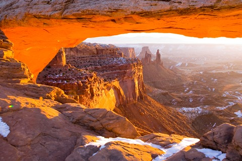 Canyonlands National Park, Mesa Arch
